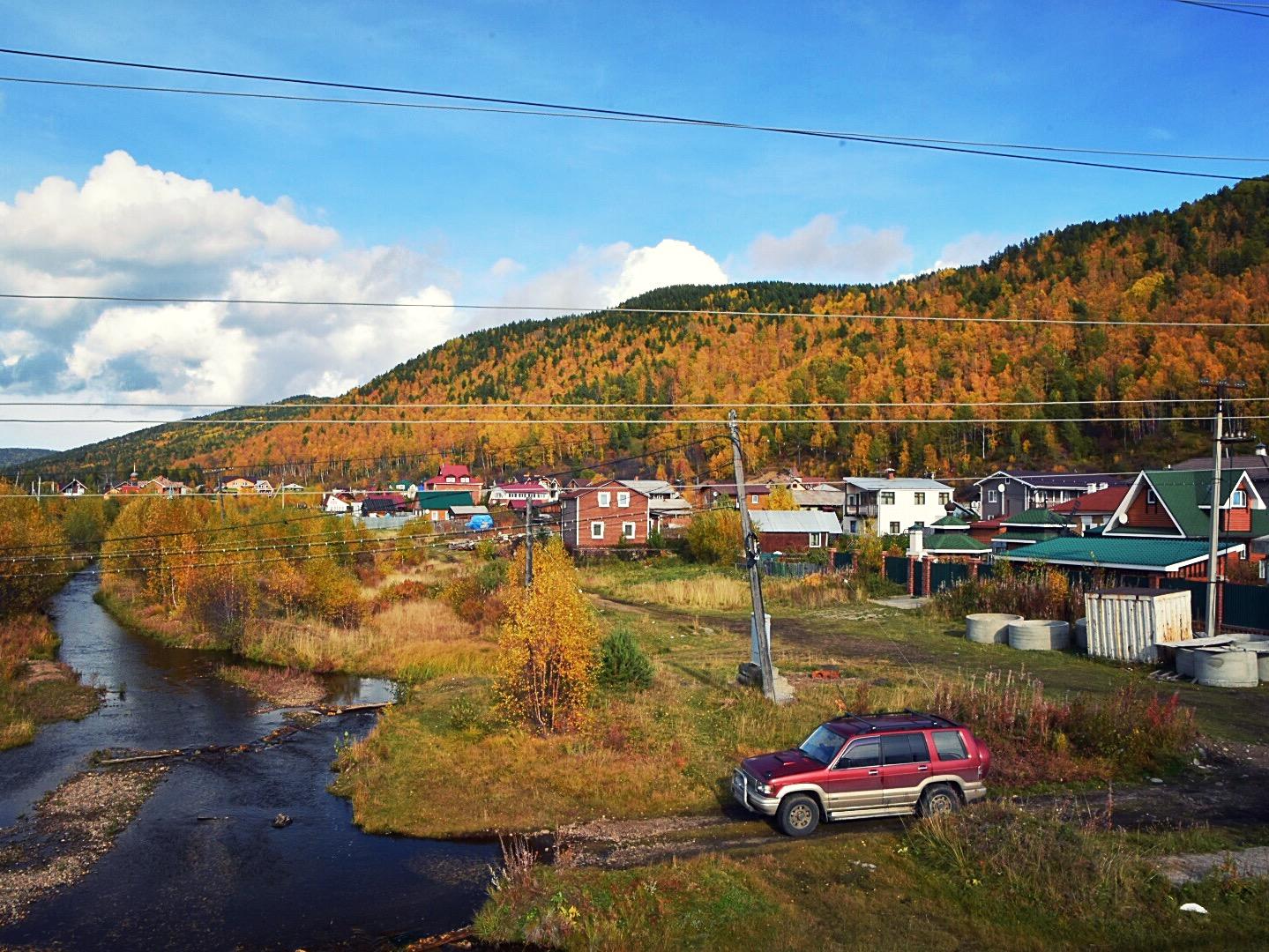 Tolle Landschaft und tolle Farben