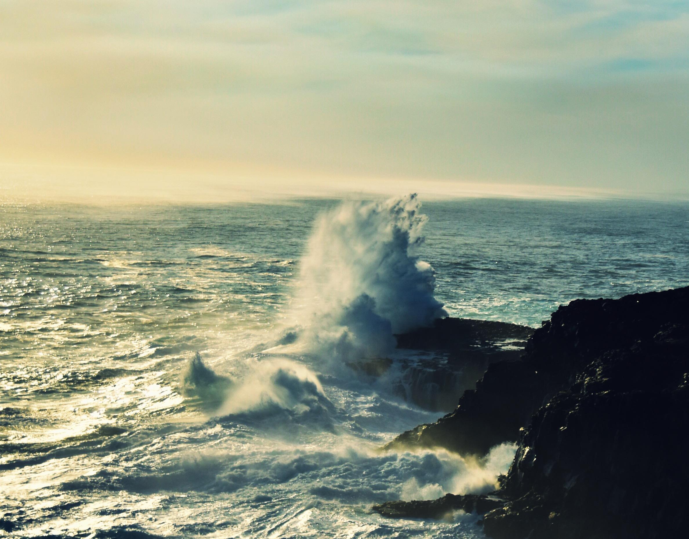 Gigantische Wellen