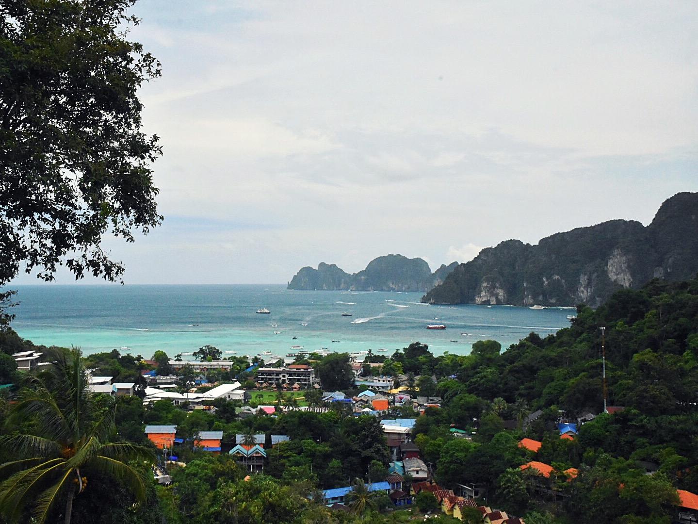 Die Bucht von Phi Phi Don